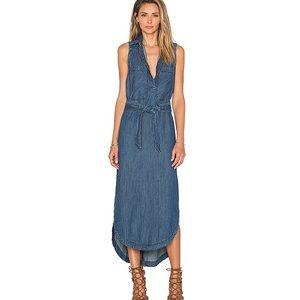 Free People denim Cecelia Dress in Niel Wash Sz XS